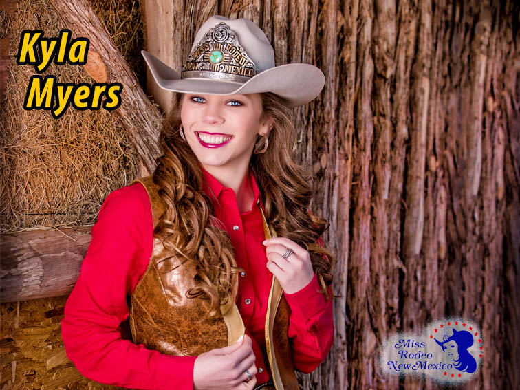 Miss Rodeo New Mexico 2017 Kyla Myers